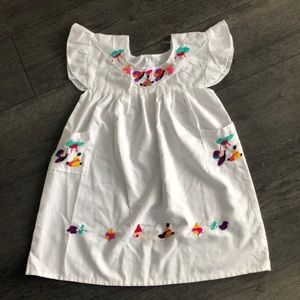 Other - Embroidered Hand made in Nicaragua  girl's dress